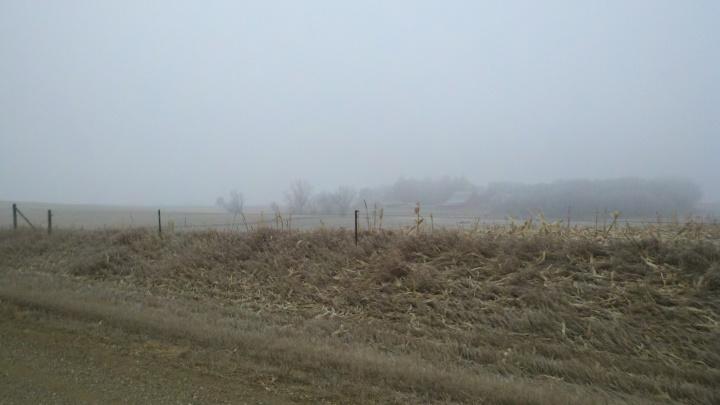 south dakota winter moring