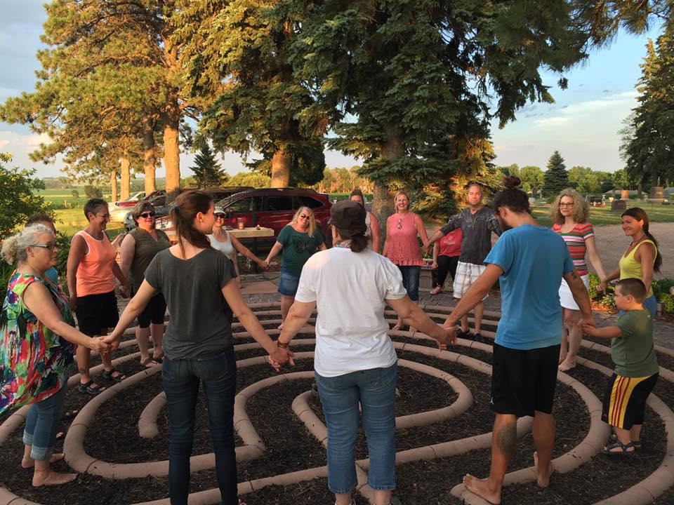 Healing Garden Drum Circle